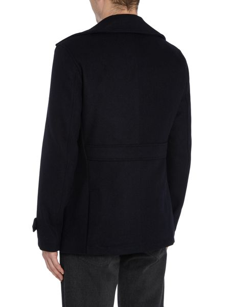 Only & Sons Wool-Blend Peacoat
