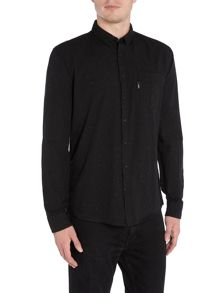 Lindbergh Classic one pocket long sleeve shirt