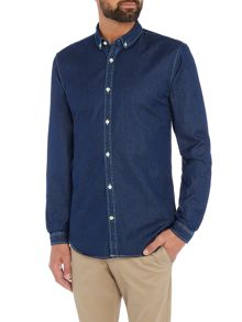 Lindbergh Denim long sleeve shirt