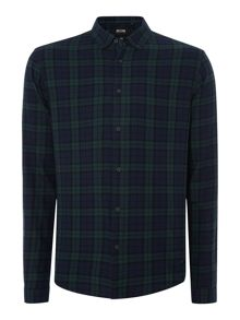 Only & Sons Checked Long-Sleeve Shirt