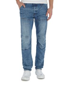 G-Star 5620 3D slim medium aged hadron stretch jeans