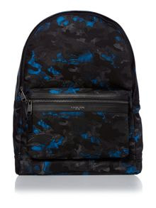 Michael Kors Kent Nylon Printed Camo Backpack