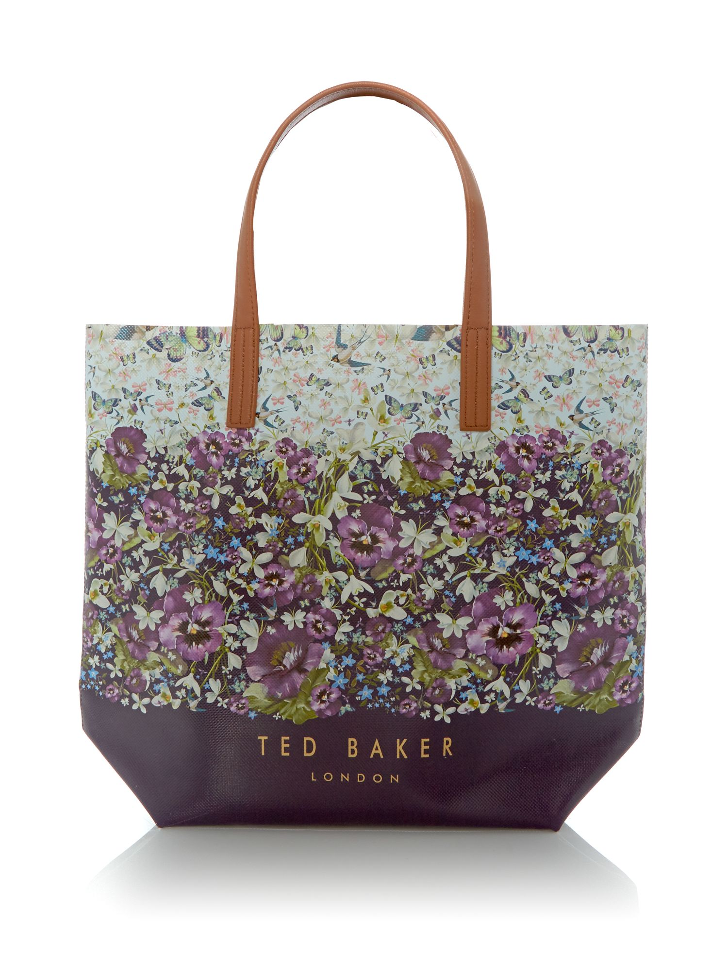 Ted Baker Beca enchantment tote bag Navy