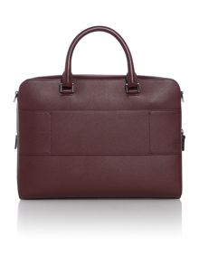 Michael Kors Harrison Zip Top Saffiano Leather Briefcase