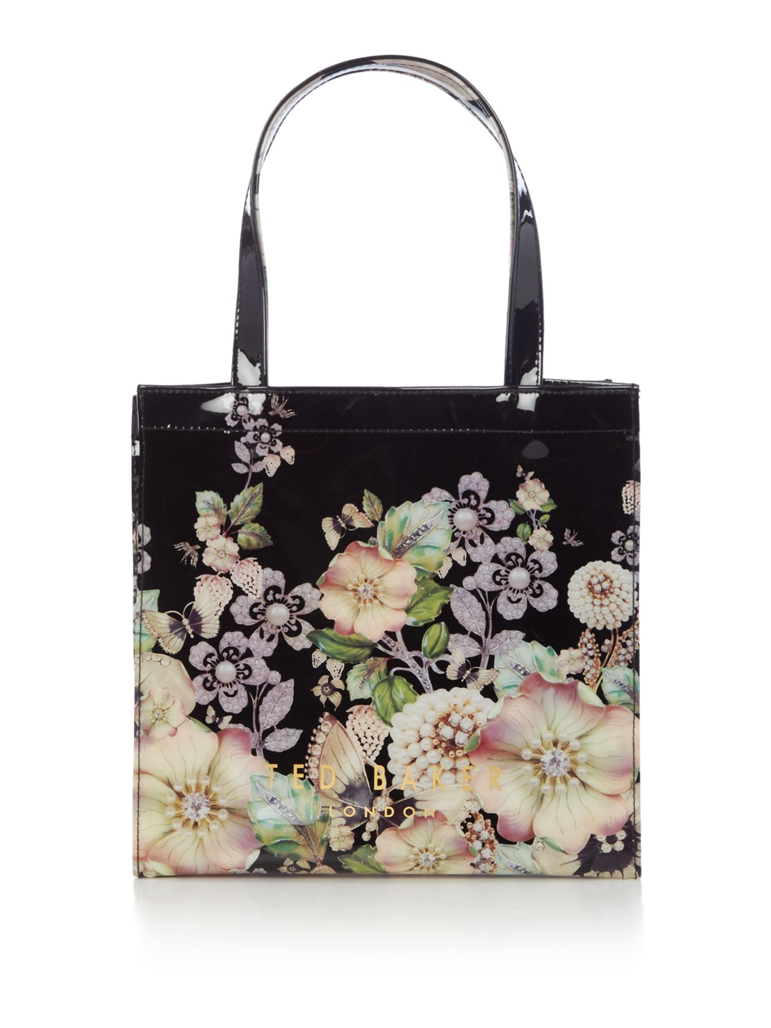 Ted Baker Chycon small gem tote bag Black