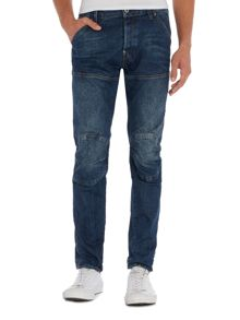 G-Star 5620 3D slim dark aged hadron stretch jeans