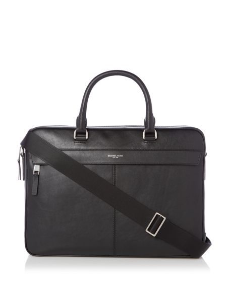 Michael Kors Owen Smooth Leather Briefcase
