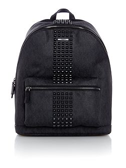 Jetset MK Monogram Studded Backpack