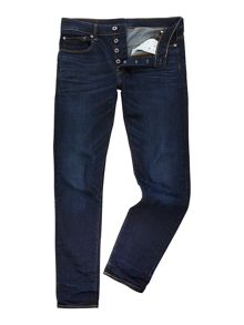 G-Star 3301 slim fit hydrite blue stretch jeans