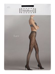 Wolford LACE TIGHTS WITH SWAROVSKI