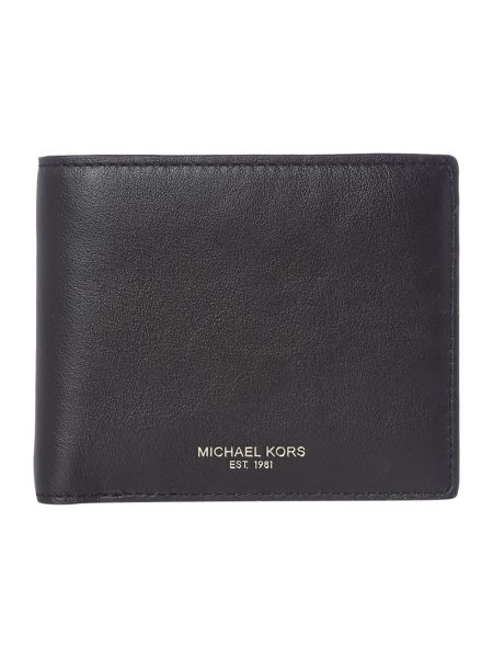 Michael Kors Owen Smooth Leather Coin Pocket Wallet