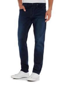 G-Star 3301 Tapered slander indigo super stretch jeans