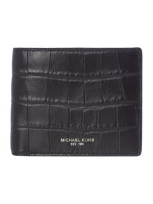 Michael Kors Bryant Mock Crock Leather Wallet