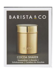 Barista & Co Cocoa shaker, electric gold