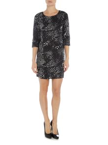 Vero Moda Animal Print Short Dress