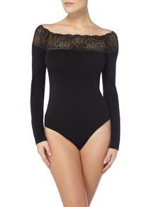 Wolford VISCOSE LACE STRING BODY
