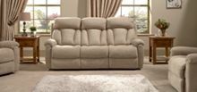 La-Z-Boy Georgia Fabric 3 Seater Static Sofa