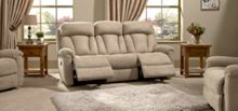 La-Z-Boy Georgia Fabric 3 Seater Manual Sofa
