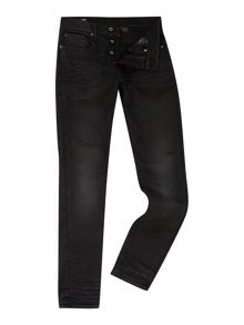 G-Star 3301 Tapered slander bionic black jeans