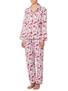 Cyberjammies Stephanie floral pyjama set