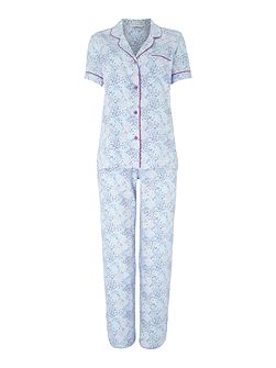 Elsie animal spot print pyjama set