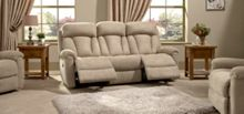 La-Z-Boy Georgia Fabric 3 Seater Power Sofa