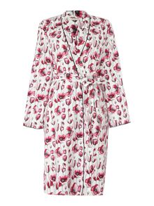 Cyberjammies Stephanie floral lightweight robe