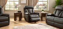 La-Z-Boy Georgia Leather Manual Recliner Chair