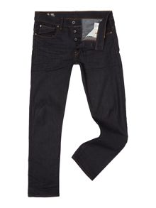 G-Star 3301 Straight cut raw denim stretch jeans