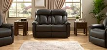 La-Z-Boy Georgia Leather 2 Seater Static Sofa