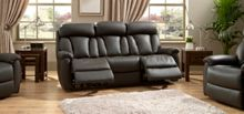 La-Z-Boy Georgia Leather 3 Seater Manual Sofa