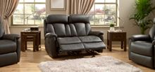 La-Z-Boy Georgia Leather 2 Seater Power Sofa