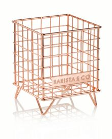Barista & Co POD Cage Coffee Capsule Storage, Copper
