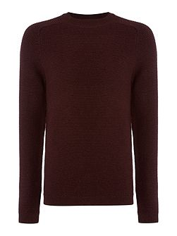 Wool-Blend Crew-Neck Knitted Jumper