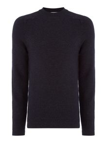 Selected Homme Wool-Blend Crew-Neck Knitted Jumper