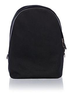 Travele Leather Trim Backpack
