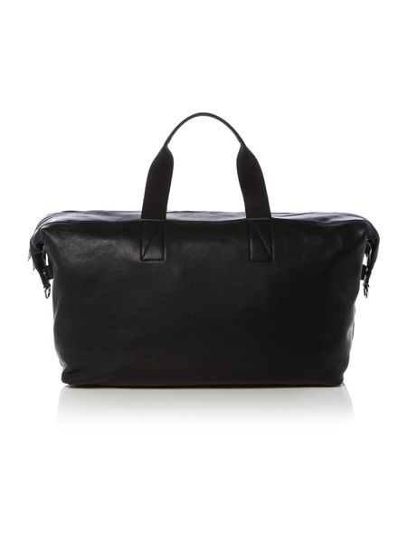 Paul Smith London Stamped Logo Leather Holdall