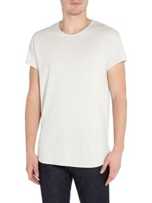 Selected Homme Cotton-Blend Crew Neck Short-Sleeve T-shirt