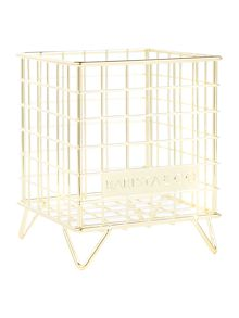 Barista & Co POD Cage Coffee Capsule Storage, Electric Gold