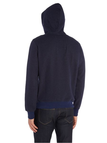 G-Star Vasif logo hooded sherland sweatshirt