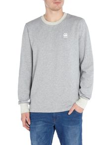 G-Star Core crew neck sherland sweatshirt