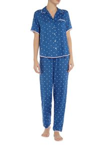 Nora Rose Aoe dot print pyjama set