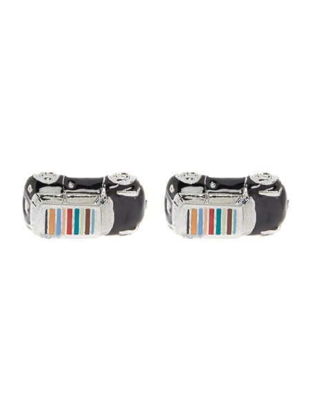 Paul Smith London Multistripe Mini Cufflink
