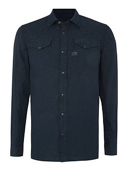 Tacoma lightweight long sleeve boll denim shirt