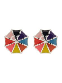 Paul Smith London Multistripe Umbrella Cufflink