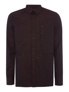 G-Star Powel reverse twill long sleeve shirt