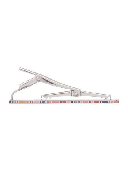 Paul Smith London Multistripe Edge Tie Pin