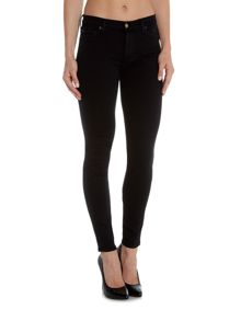 7 For All Mankind Slim illusion lux high waist skinny jean