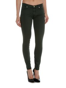 7 For All Mankind Rich sateen skinny cargo jean