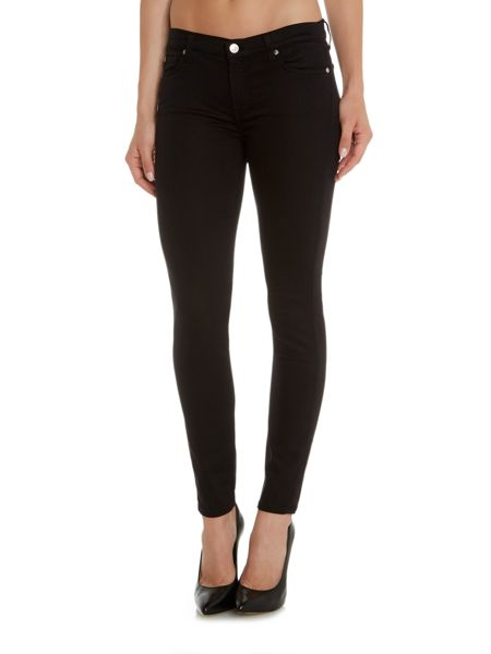 7 For All Mankind Skinny rich sateen jean